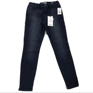 Skinnygirl high rise skinny ankle jeans
